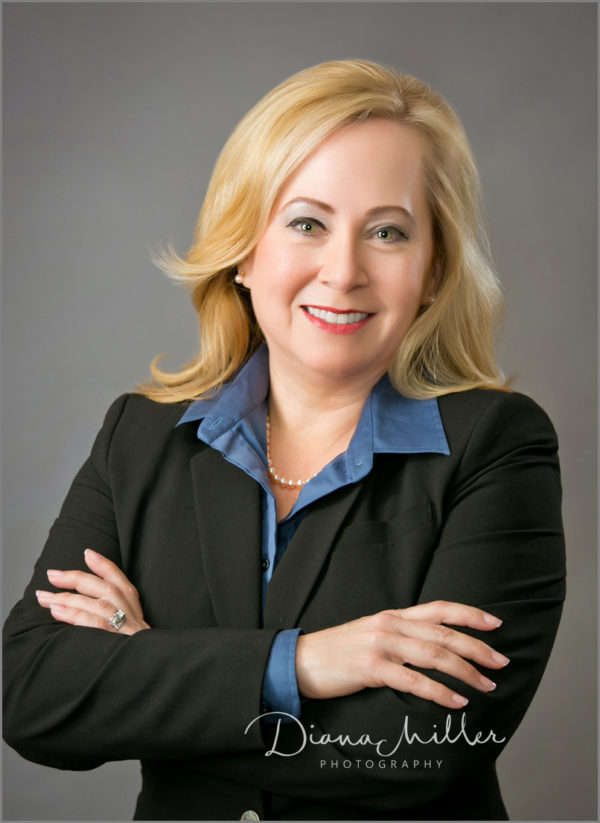 Business portrait of a female in Sacramento, California