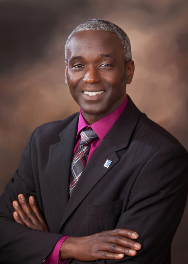 Business portrait of black male