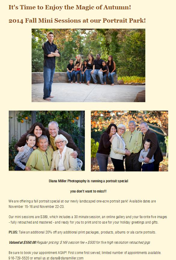 Sacramento Portrait Photographers