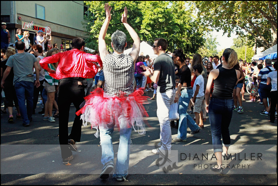 The Sacramento Ballet at the Thriller Flash Mob