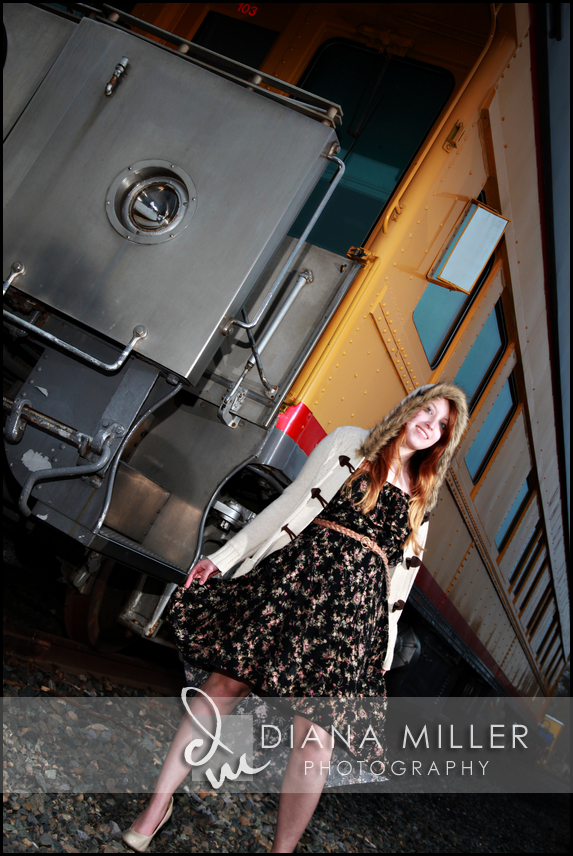 Female Senior Portrait in Old Sacramento