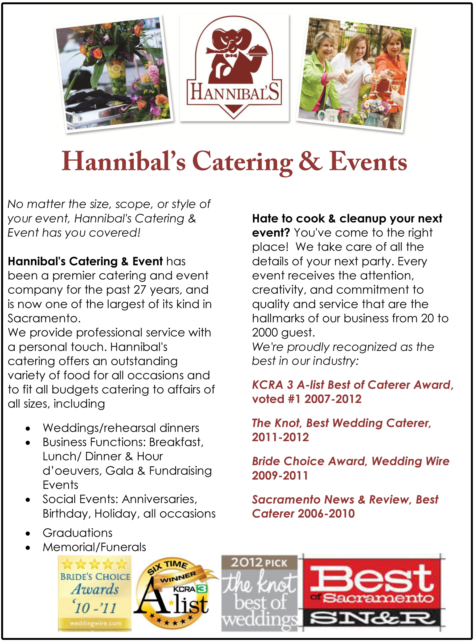Catering Menu Ideas And Quotes