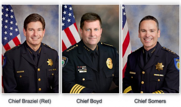 Portraits of Police Chiefs