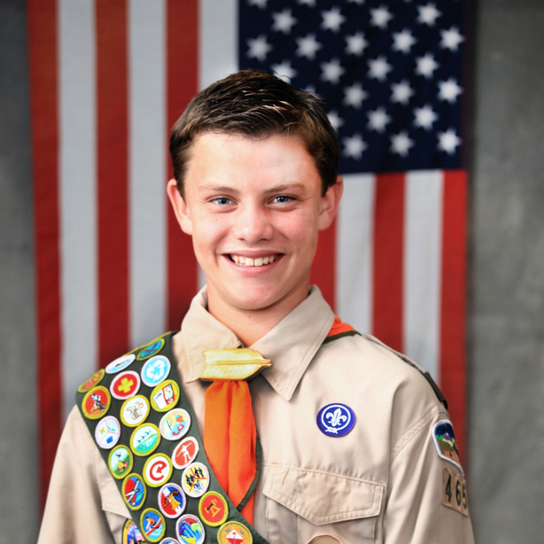 Sacramento Portrait Photography: Nathan Klaff earns the Eagle Scout Award!