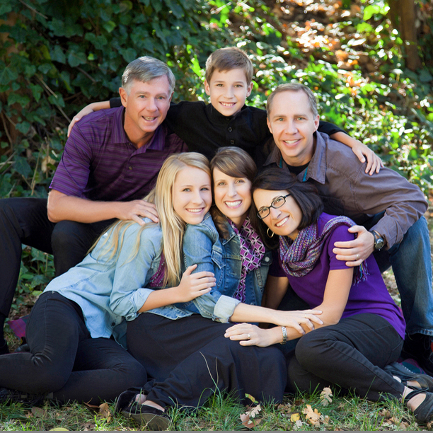 Sacramento Portrait Photography: The Daniels family really knows how to have fun!