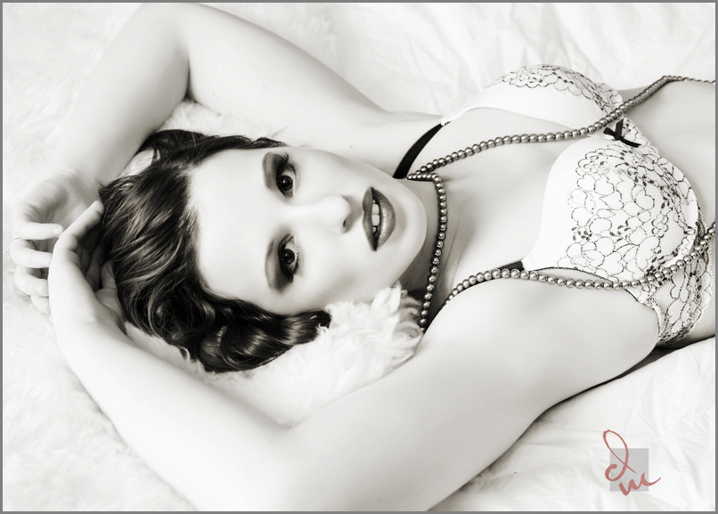 Sacramento boudoir portrait session in our portrait studio in Sacramento, CA