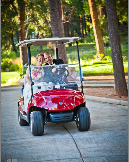 {Sacramento Wedding Photography} A golf wedding at Apple Mountain Golf Resort
