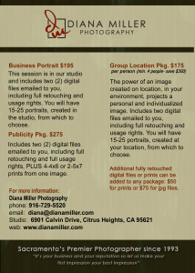 Business Portrait Pricing