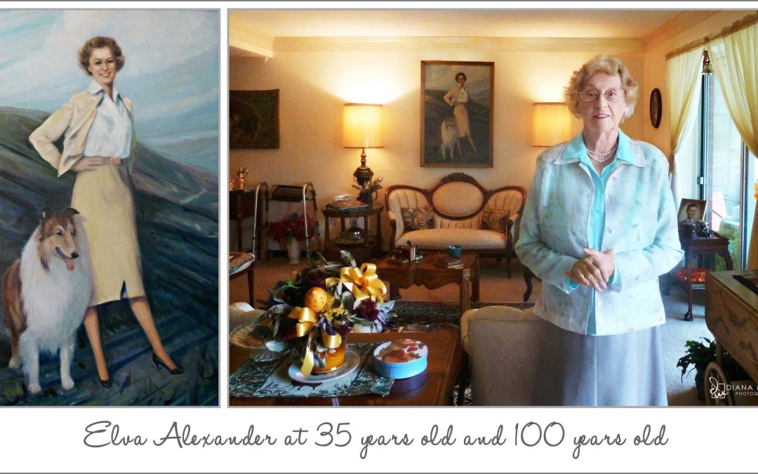 Meet Elva Alexander 100 years young!
