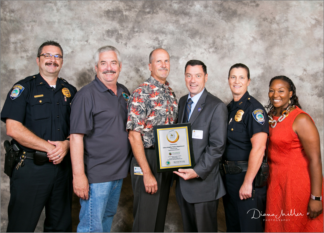 Citrus Heights PD with Award